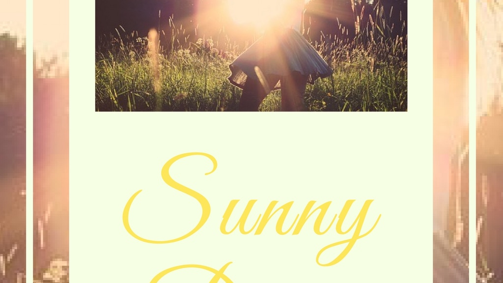 Sunny Days | Part 1 of the Dream Days Collection project video thumbnail