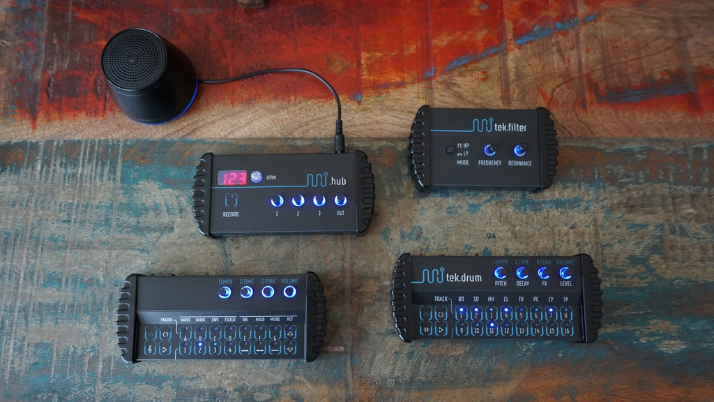 minijam studio - portable music machines project video thumbnail