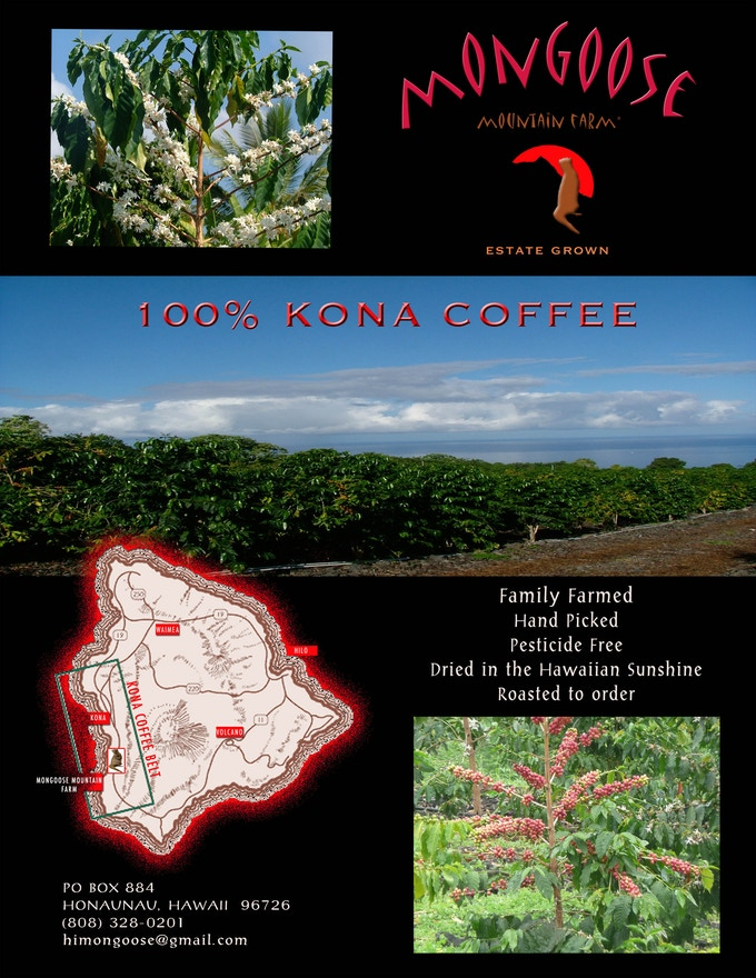 Farm Direct 100 Kona Coffee Recyclable Disposable Pour