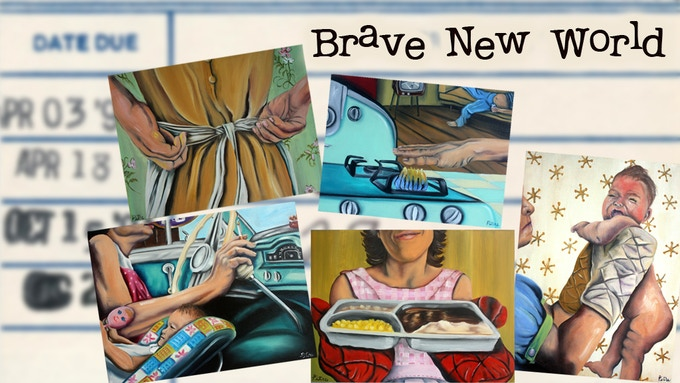 Paintings available in the Brave New World reward package.