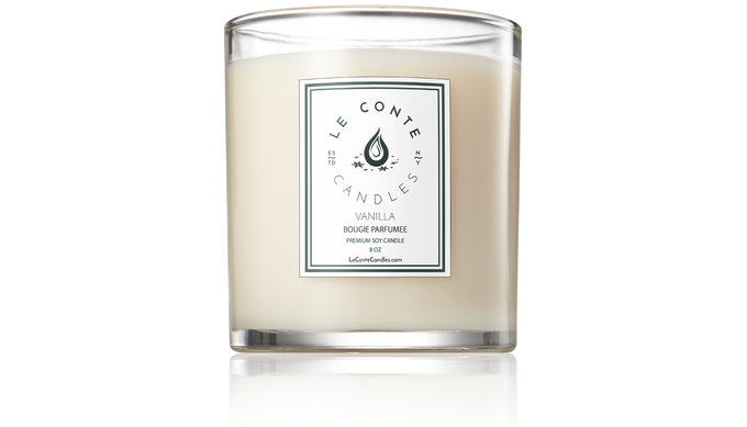 LE CONTE CANDLES | A candle with a sight and scent to behold