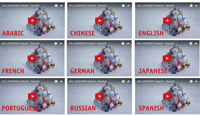 Video - available in different languages