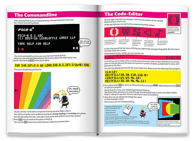 Example pages from the book - click to enlarge
