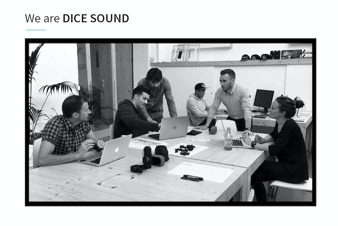 From left: Yohan (Designer) , Xavier (Engineer) , Sébastien (Co-founder), Stephane (Co-founder), Florian (Sales) , Virginie (Marketing & sponsoring)