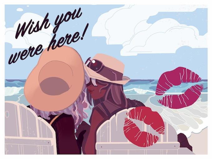 Meredith McClaren's Hawaii postcard