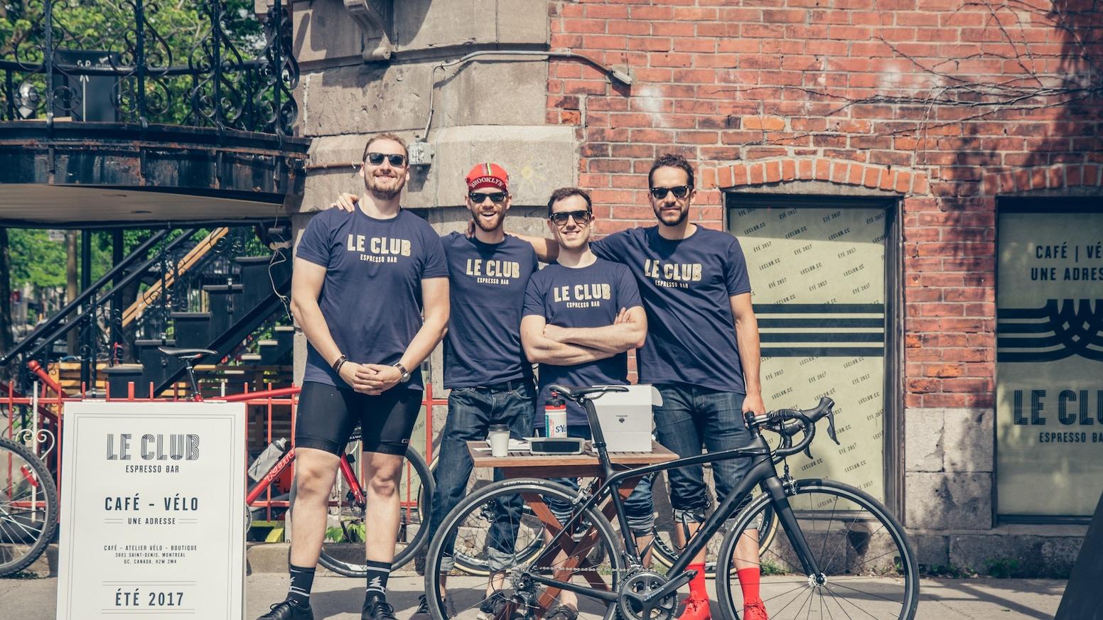 3801 Saint-Denis, Montréal, QC, H2W2M4.Le Club Espresso Bar sera un espace qui offrira sous un même toit un comptoir espresso, une boutique vélo et un atelier de réparation.
