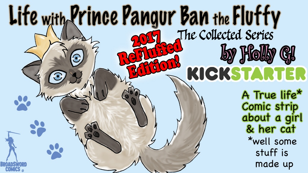 Prince Pangur the Fluffy: ReFluffed Edition! project video thumbnail