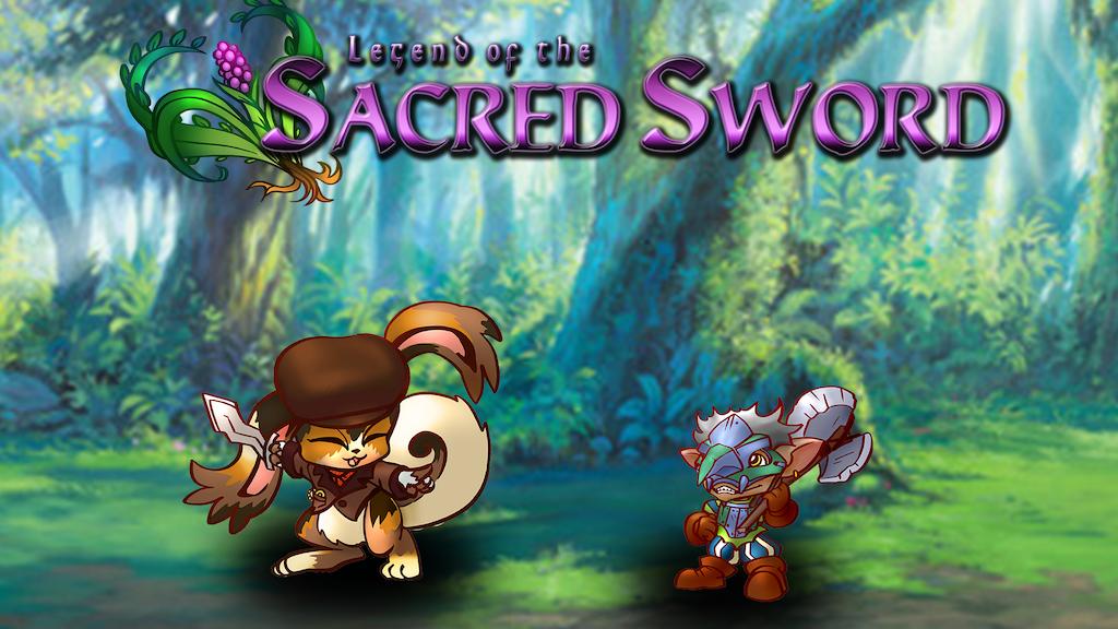 Sacred Sword 32mm Chibi Miniatures project video thumbnail