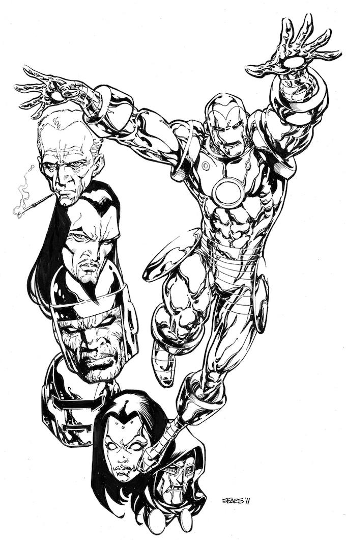 Iron Man commission.