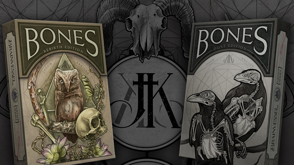 Bones Playing Cards - Brain Vessel Artist Series project video thumbnail