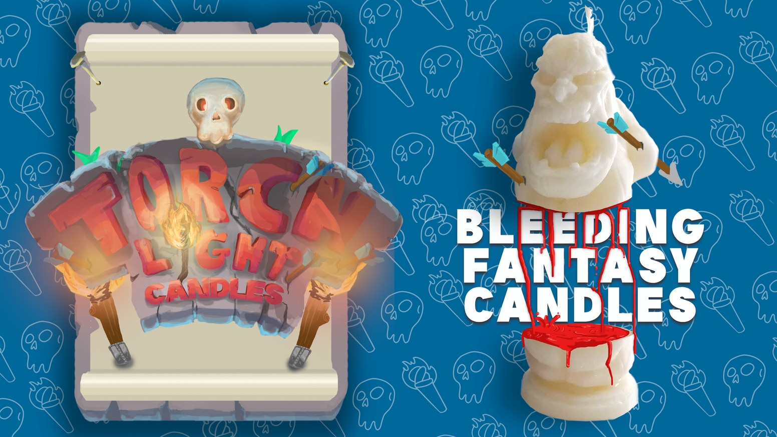 Escape On Your Own Epic Fantasy Adventure With These High Definition Character Candles That Bleed When They Burn