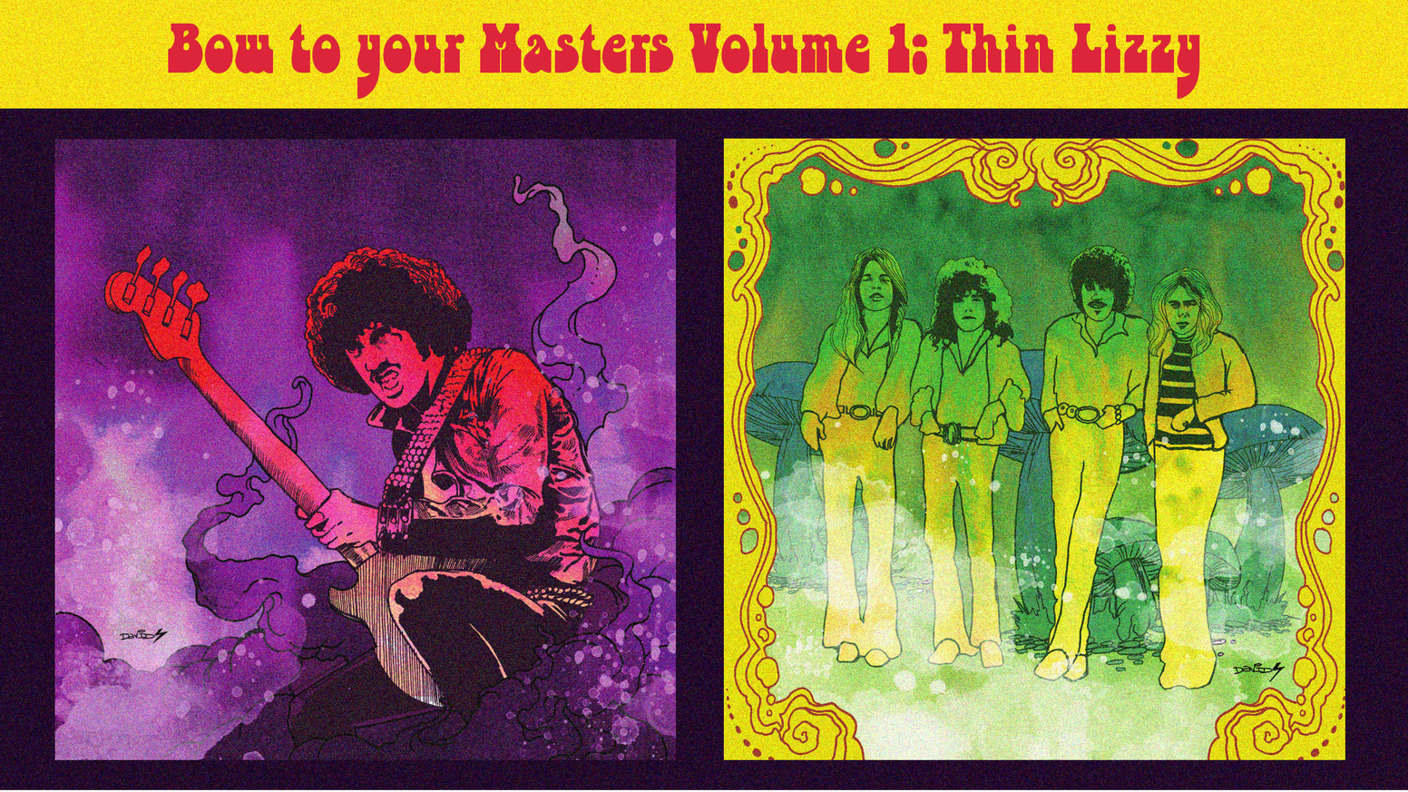Bow to Your Masters Volume 1: Thin Lizzy by Glory or Death
