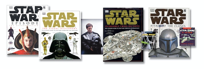 Some of the official Star Wars books I have written