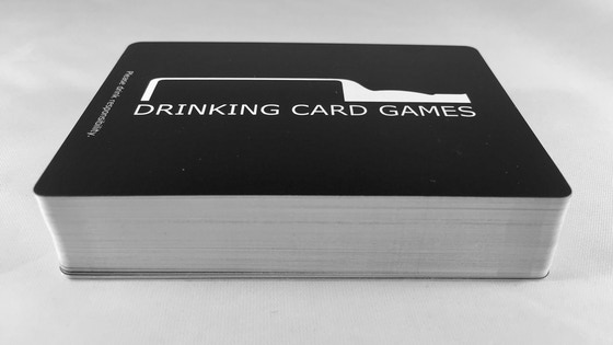 Drinking Card Games - Playing Cards with a Twist