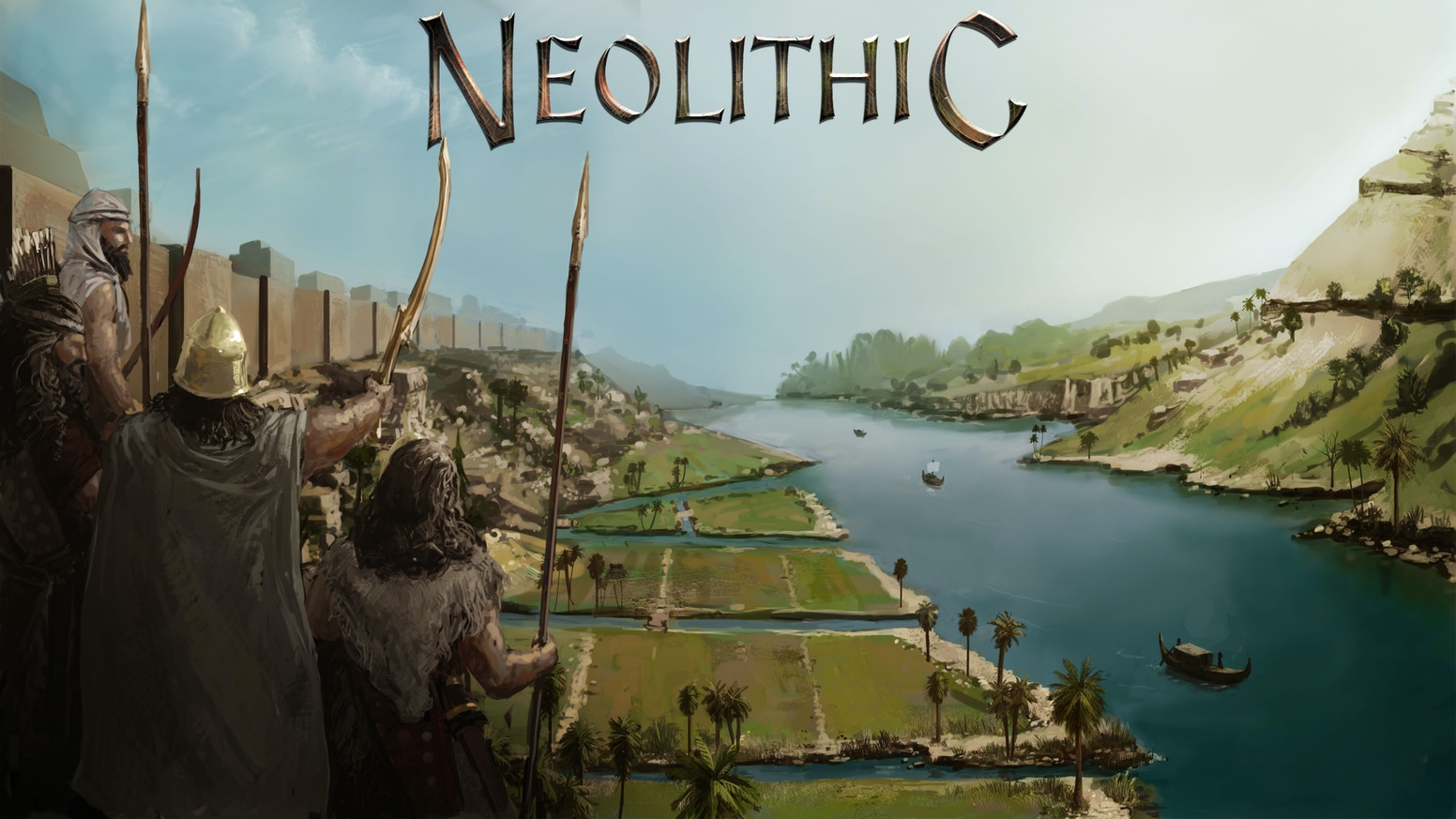 An RTS game with lots of depth, including character development & city-state building.