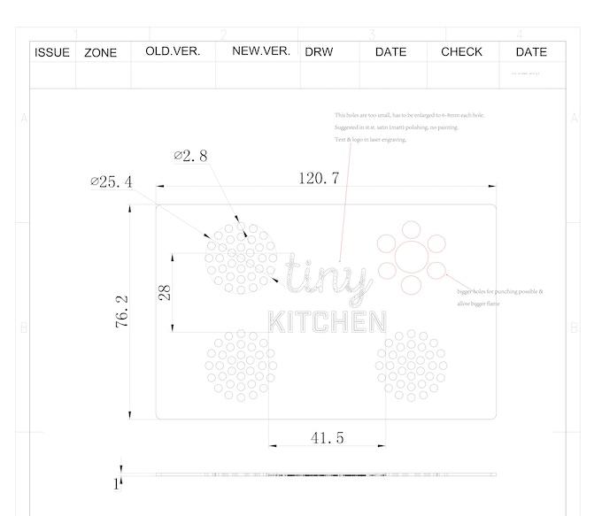 Tiny Kitchen Tuesdays Tastemade: The Tastemade Tiny Kitchen Stove: First Edition By Tiny
