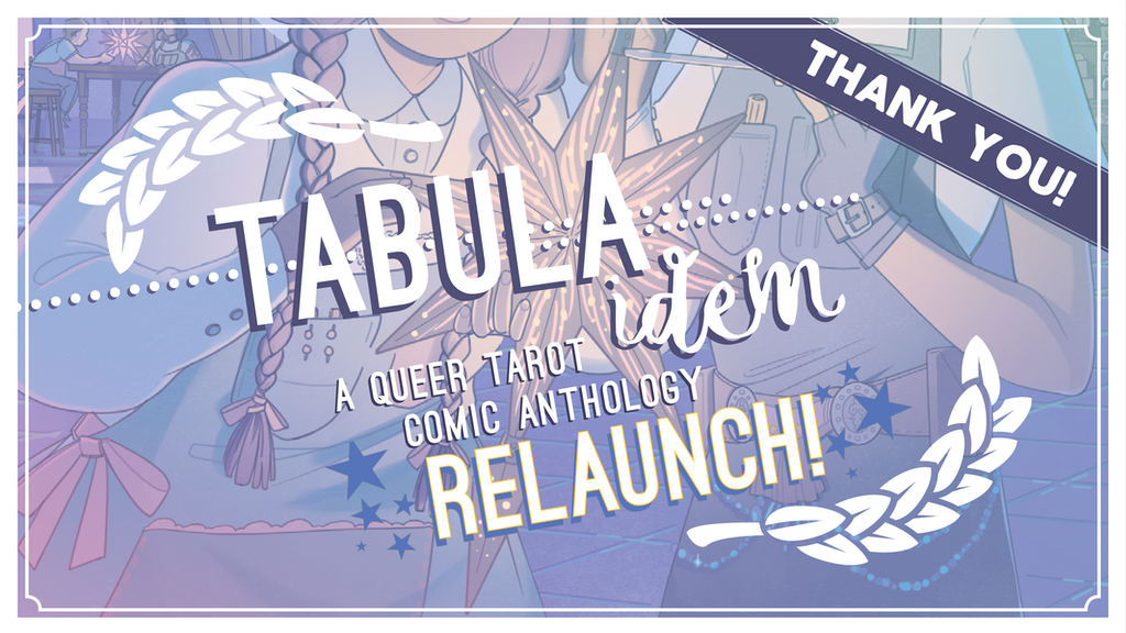 TABULA IDEM: A Queer Tarot Comic Anthology Relaunch project video thumbnail