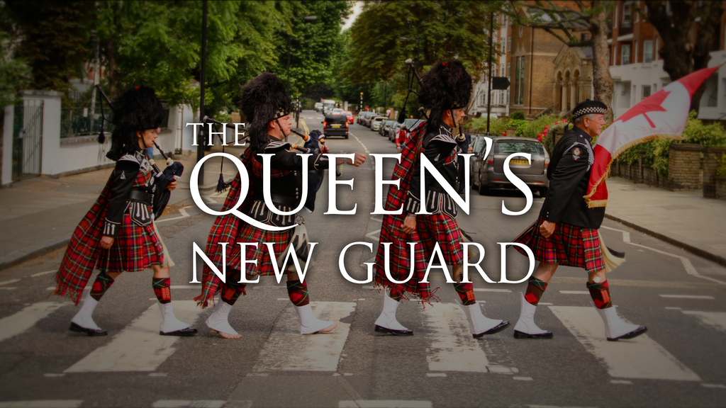 The Queen's New Guard project video thumbnail