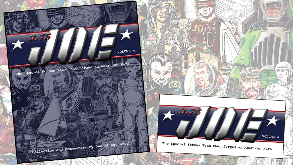 "3.75"" Joe: Creating G.I.Joe ®: A Real American Hero™ Vol. 4 project video thumbnail"