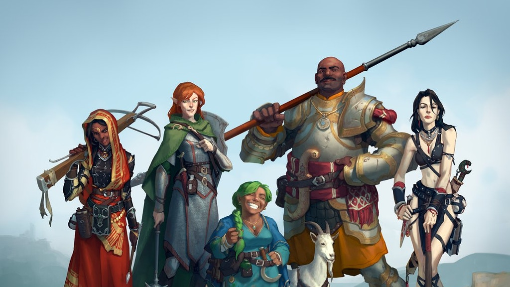 Project image for Really funny group of friends new to Pathfinder Tabletop RPG (Suspended)