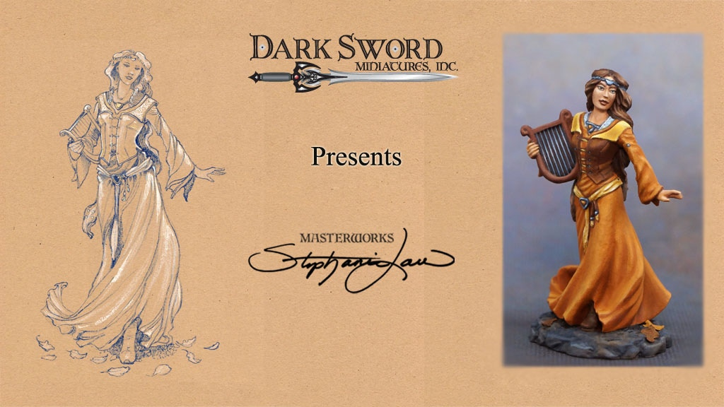 Project image for Dark Sword Miniatures – Stephanie Law Masterworks RPG Minis (Canceled)