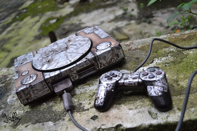 Numbered And Signed PlayStation - By Joffrey