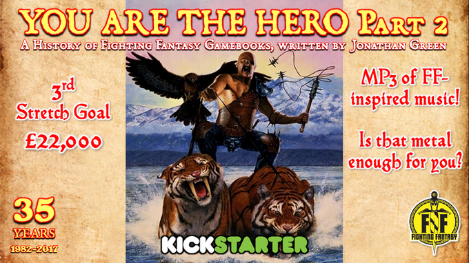 YOU ARE THE HERO Part 2 by Jonathan Green — Kickstarter