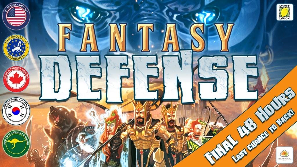 Fantasy Defense By Sweet Lemon Publishing Kickstarter