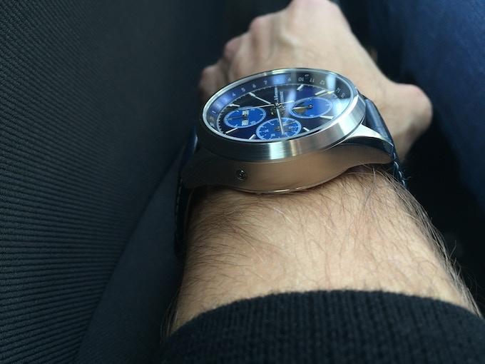 ZK No.1 - Blue Moon - Wristshot
