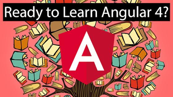 Help me Kickstart an Angular 4 Book : Angular2