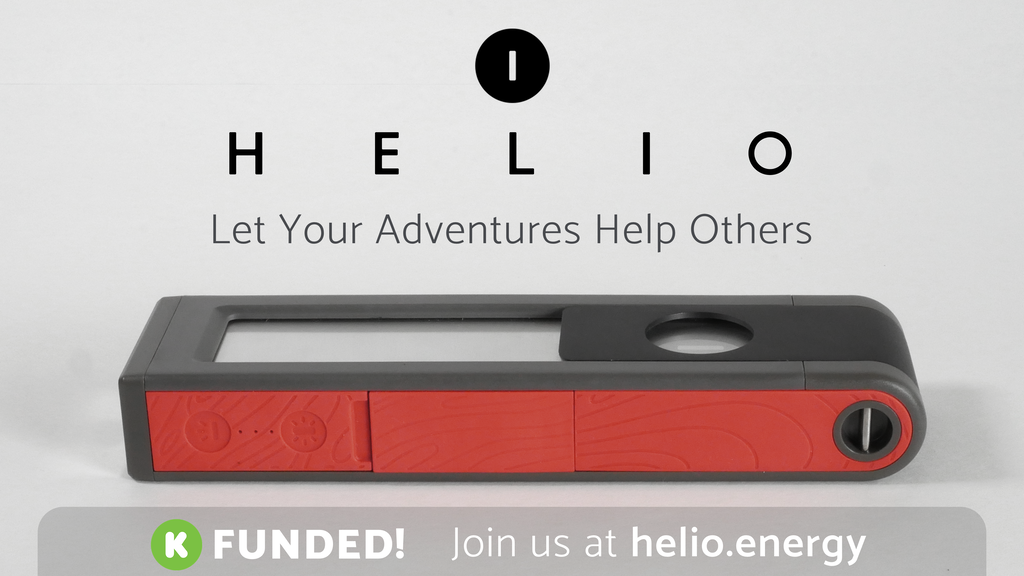 HELIO: Solar Light & Powerbank for Adventures & Emergencies project video thumbnail