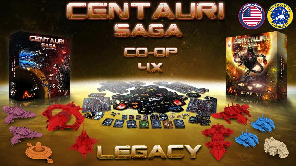 Centauri Saga: Season 1 miniatura de video del proyecto
