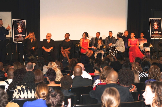 RED CARPET PREMIERE AND Q&A FOR THE SHATTERED MIND WITH CAST (10/2014)