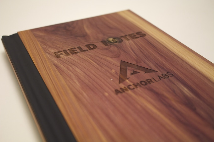 """Handcrafted real wood journals. Record all of your climbing and outdoor adventures. (8.5"""" x 5.5"""")"""