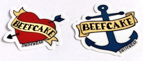 Heart & Anchor stickers