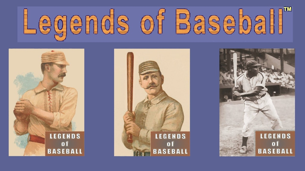 Legends of Baseball: Dice Game -The 128 Best Players Ever project video thumbnail