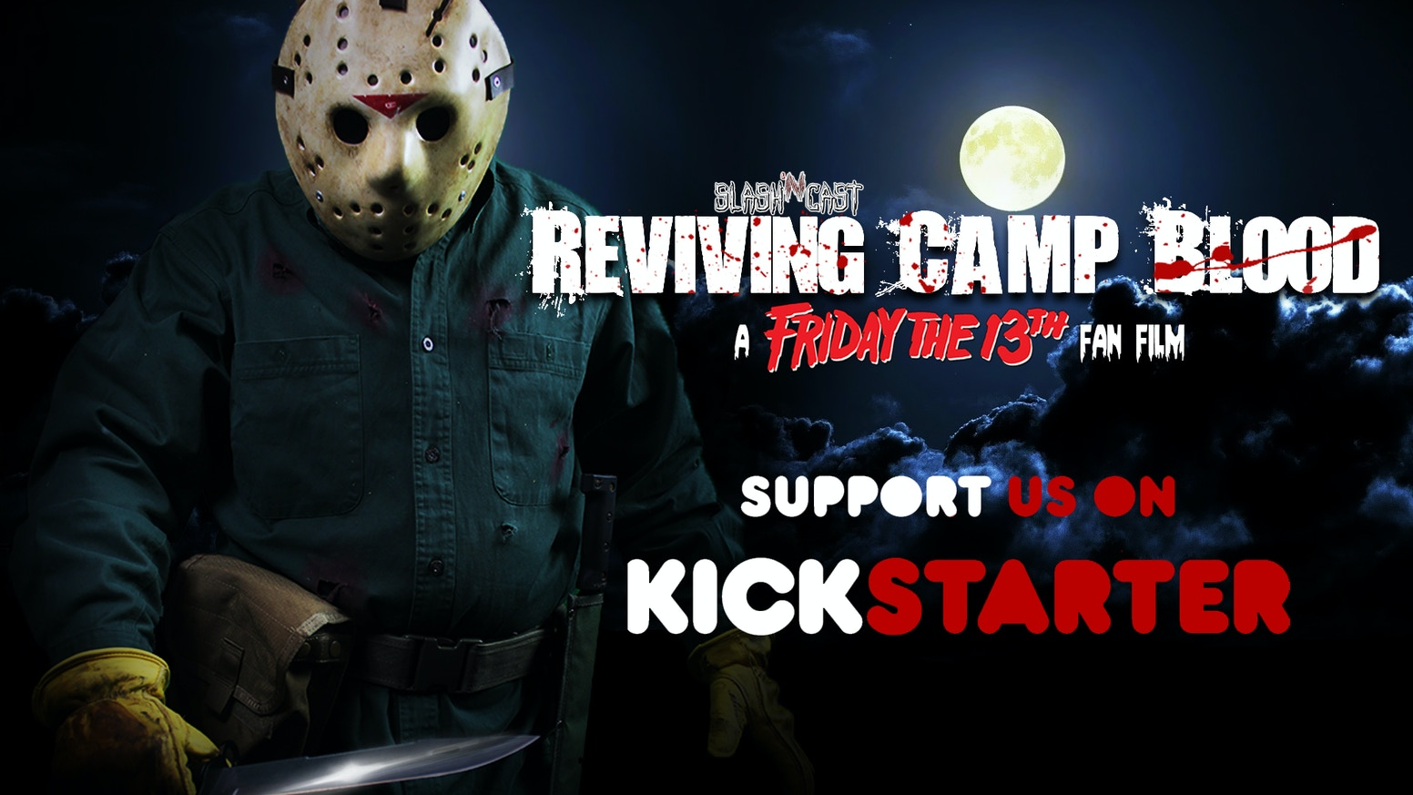 """""""Reviving Camp Blood"""" has a new name - """"The Fall of Camp Blood"""". Follow the production using the red button below."""