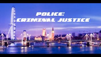 Poilce: Criminal Justice
