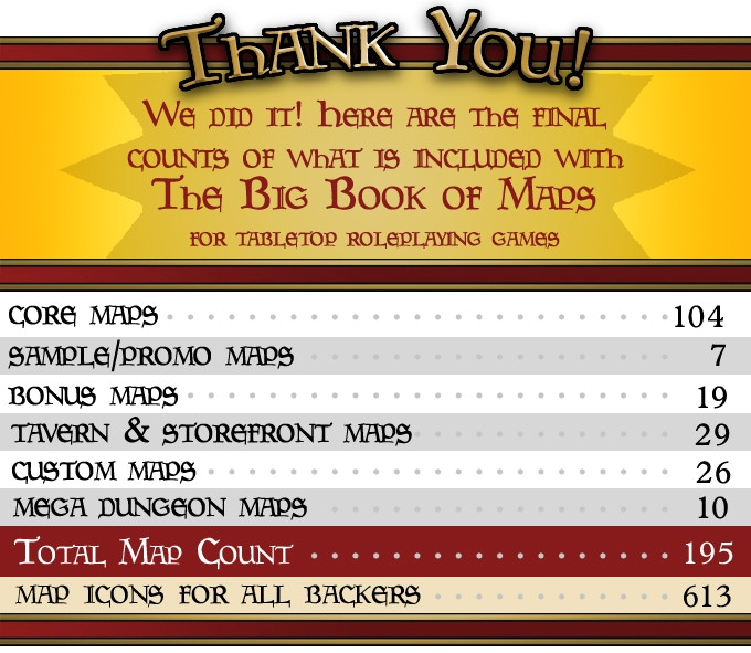 The Big Book of Maps (for Tabletop Roleplaying Games) by Justin