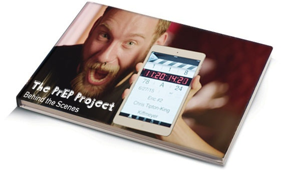 Hardcover Behind the Scenes photo book