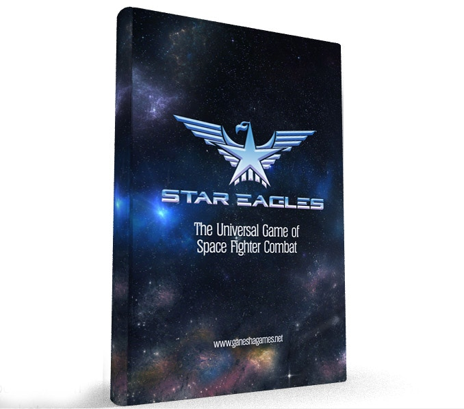 Star Eagles 6' x 9' full color rule book