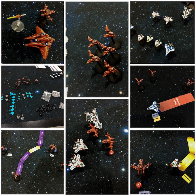 Playtest Games using home-printed miniatures.