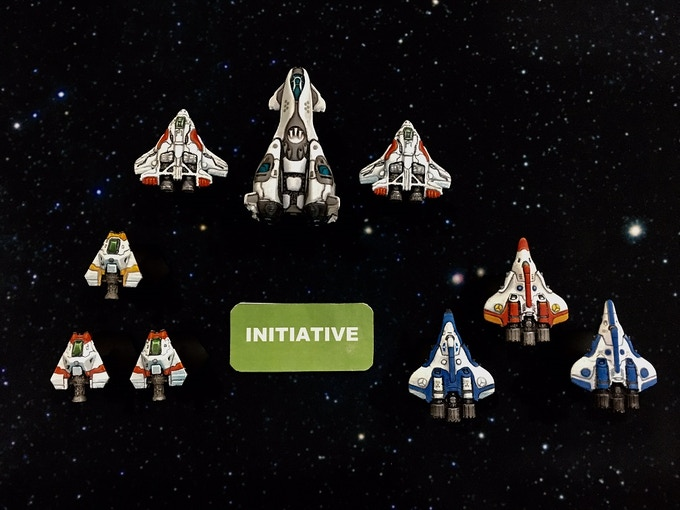 Initiative is an important and dynamic part of the game.