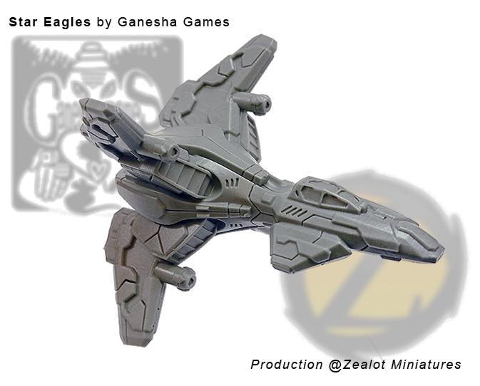ConStar Alpha Dart Actual Resin Miniature