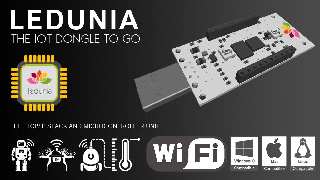 LEDUNIA | The WiFi-Enabled IoT Dev Board | Made in Germany project video thumbnail