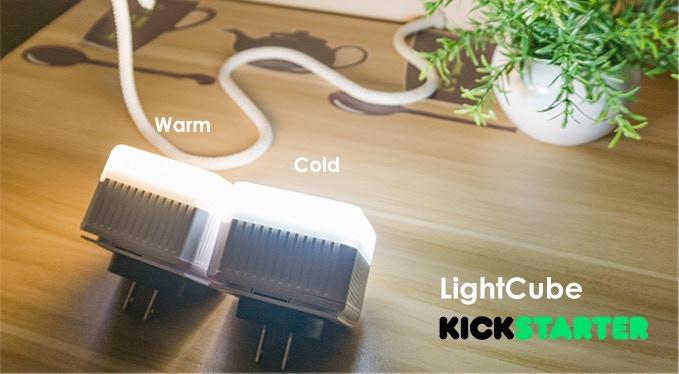 LichtCube Original Portable Warm and Cold Light