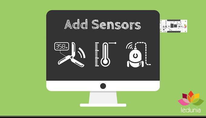 Simple to add IoT sensors or displays