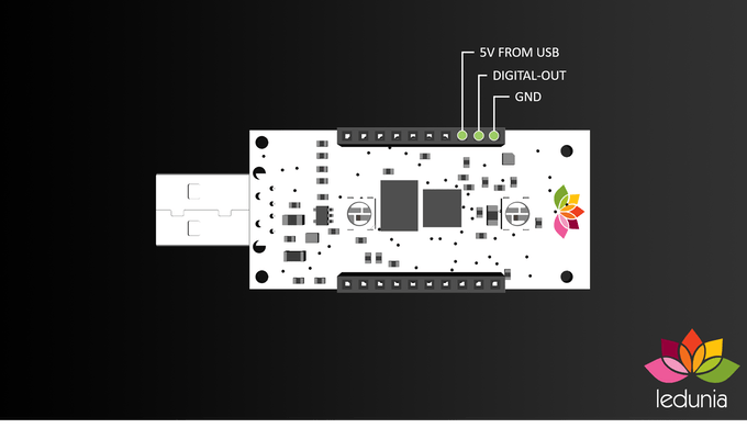 To make this even easier, we've added additional GPIO pins to the PCB.