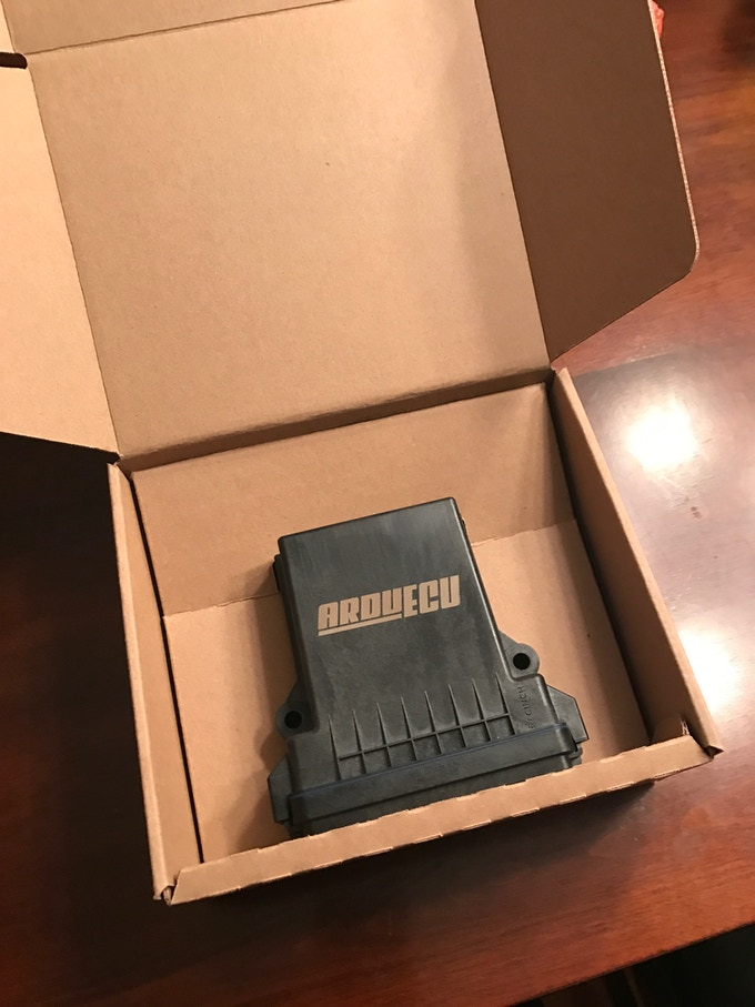 Custom Prototype ArduECU Shipping Box