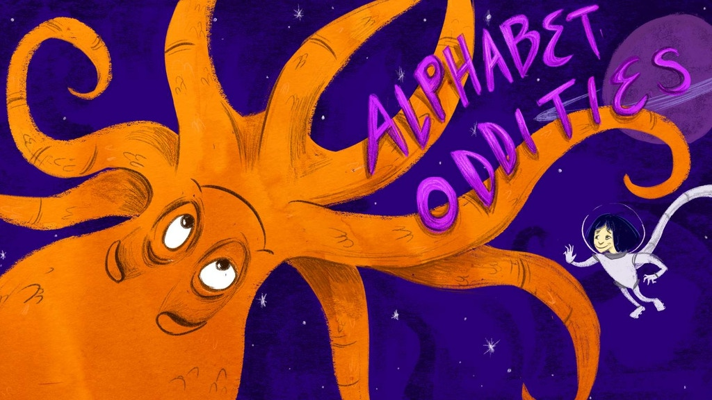 Alphabet Oddities - children's poetry with science & kimchi project video thumbnail